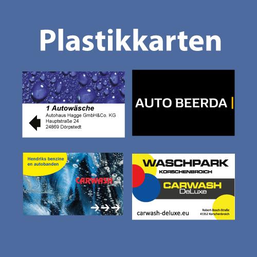 Kundenkarten / Waschkarten